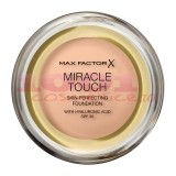 MAX FACTOR MIRACLE TOUCH SKIN PERFECTION WITH HYALURONIC ACID SPF 30 FOND DE TEN PEARL BEIGE 035