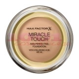 MAX FACTOR MIRACLE TOUCH SKIN PERFECTION WITH HYALURONIC ACID SPF 30 FOND DE TEN SAND 060