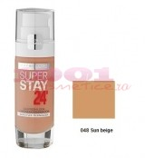 MAYBELLINE AFINITONE SUPER STAY 24H FOND DE TEN SUN BEIGE 048