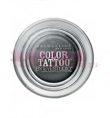 MAYBELLINE COLOR TATTOO 24H EYESHADOW AUDACIOUS ASPHALT 15