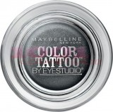 MAYBELLINE COLOR TATTOO 24H EYESHADOW IMMORTAL CHARCOAL 55