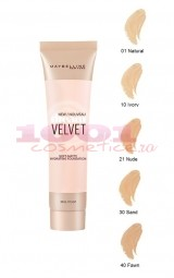 MAYBELLINE DREAM VELVET SOFT MATTE HYDRATING FOND DE TEN