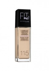 MAYBELLINE FIT ME LUMINOUS + SMOOTH FOND DE TEN IVORY 115