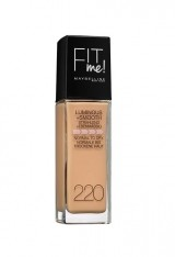 MAYBELLINE FIT ME LUMINOUS + SMOOTH FOND DE TEN NATURAL BEIGE 220
