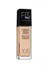 MAYBELLINE FIT ME LUMINOUS + SMOOTH FOND DE TEN NATURAL IVORY 105