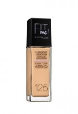 MAYBELLINE FIT ME LUMINOUS + SMOOTH FOND DE TEN NUDE BEIGE 125