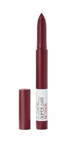 MAYBELLINE SUPER STAY INK CRAYON RUJ DE BUZE REZISTENT SETTLE FOR MORE 65