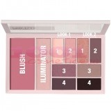 MAYBELLINE THE CITY KITS FARD + BLUSH PALETA PINK EDGE 02