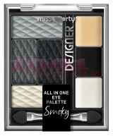 MISS SPORTY ALL IN ONE PALETA MACHIAJ SMOKEY BLACK DESIGNER 200