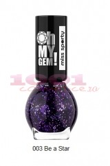 MISS SPORTY OH MY GEM LAC DE UNGHII CU EFECT SPECIAL BE A STAR 003