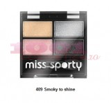 MISS SPORTY STUDIO COLOUR QUATTRO FARD DE PLEOAPE SMOKY TO SHINE 409