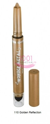 MISS SPORTY WONDER METAL CREAMY SHADOW CREION DE OCHI GOLDEN REFLECTION 110