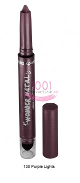 MISS SPORTY WONDER METAL CREAMY SHADOW CREION DE OCHI PURPLE LIGHTS 130