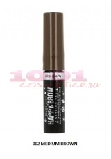 MISS SPORTYHAPPY BROW MASCARA PENTRU SPRANCENE MEDIUM BROWN 002