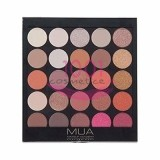 MUA EYE SHADOW PALETA 25 FARDURI BURNING EMBERS
