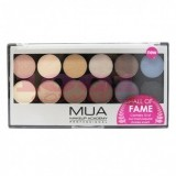 MUA EYESHADOW PALETTE PALETA 12 FARDURI HALL OF FAME