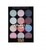MUA ULTRA SPARKLE FACE & EYE GLITTER GEL COTTON CANDY