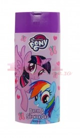 MY LITTLE PONY BATH & SHOWER GEL DE DUS SI SPUMANT PENTRU COPII