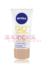 NIVEA CC CREMA ANTIRID Q10 PLUS DE ZI COLORANTA