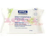 NIVEA FRAGRANCE FREE FACIAL CLEANSING WIPES SERVETELE DEMACHIANTE
