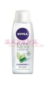 NIVEA PURE&NATURAL CLEANSING TONER LOTIUNE TONICA