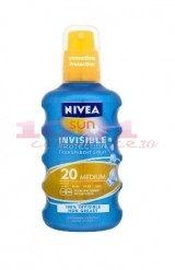 NIVEA SUN INVISIBLE SPRAY PROTECTIE SOLARA FPS 20