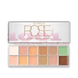 O TWO O ROSE GOLD 12 CAMOUFLAGE CREAM PALETTE