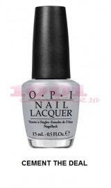 OPI COLECTIA FIFTY SHADES OF GREY LAC DE UNGHII CEMENT THE DEAL