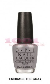 OPI COLECTIA FIFTY SHADES OF GREY LAC DE UNGHII EMBRACE THE GRAY