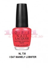 OPI LAC DE UNGHII  I EAT MAINELY LOBSTER NLT 30