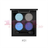 O.TWO.O EYESHADOW TRUSA FARDURI 4 CULORI 01