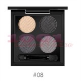 O.TWO.O EYESHADOW TRUSA FARDURI 4 CULORI 08