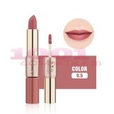 O.TWO.O GOLD ROSE 2IN1 MATTE LIPSTICK & LIQUID LIPSTICK 05