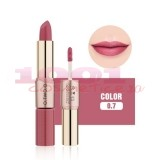 O.TWO.O GOLD ROSE 2IN1 MATTE LIPSTICK & LIQUID LIPSTICK 07