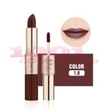 O.TWO.O GOLD ROSE 2IN1 MATTE LIPSTICK & LIQUID LIPSTICK 10