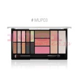 O.TWO.O SHADOW-BLUSH-HIGHLIGHTER AND CONTOUR PALETTE SMOKE 03
