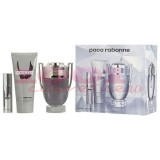 PACO RABANNE INVINCTUS EDT 100 ML + GEL DE DUS 75 ML + EDT 10 ML SET