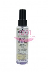 PALETTE ANTI-YELLOW COLOR CORRECTION SPRAY CU EFECT ANTI-INGALBENIRE