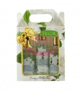 PIELOR BREEZE COLLECTION GEL DE DUS 250 ML + BODY SPRAY 200 ML + SAPUN LICHID 350 ML SET GARDENIA