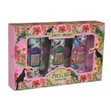 PIELOR EXOTIC DREAM COLLECTION PINK SET 3 MINI CREME DE MAINI