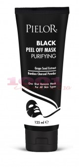 PIELOR BLACK PEEL OFF MASK PURIFYNG MASCA NEAGRA EXFOLIANTA CU PULBERE DE CARBUNE