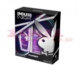 PLAYBOY ENDLESS NIGHT DNS 75 ML + DEODORANT 150 ML SET FEMEI