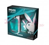 PLAYBOY ENDLESS NIGHT EDT 100 ML + GEL DE DUS 250 ML SET BARBATI