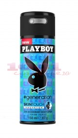 PLAYBOY GENERATION 24H DEODORANT BODYSPRAY MEN