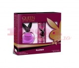PLAYBOY QUEEN OF THE GAME WOMEN EDT 60 ML + DEODORANT BODY SPRAY 150 ML SET