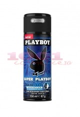 PLAYBOY SUPER PLAYBOY 24H DEODORANT BODYSPRAY MEN