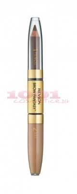 REVLON BROW FANTASY CREION SI GEL PENTRU SPRANCENE DARK BLONDE 104