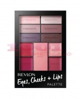 REVLON EYES CHEEKS + LIPS PALETTE SEDUCTIVE BERRY IN LOVE 300