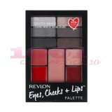 REVLON EYES, CHEEKS + LIPS PALETTE SEDUCTIVE SMOKIES 200