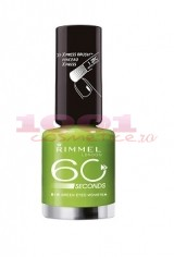 RIMMEL LONDON 60 SECONDS LAC DE UNGHII GREEN EYED MONSTER  816